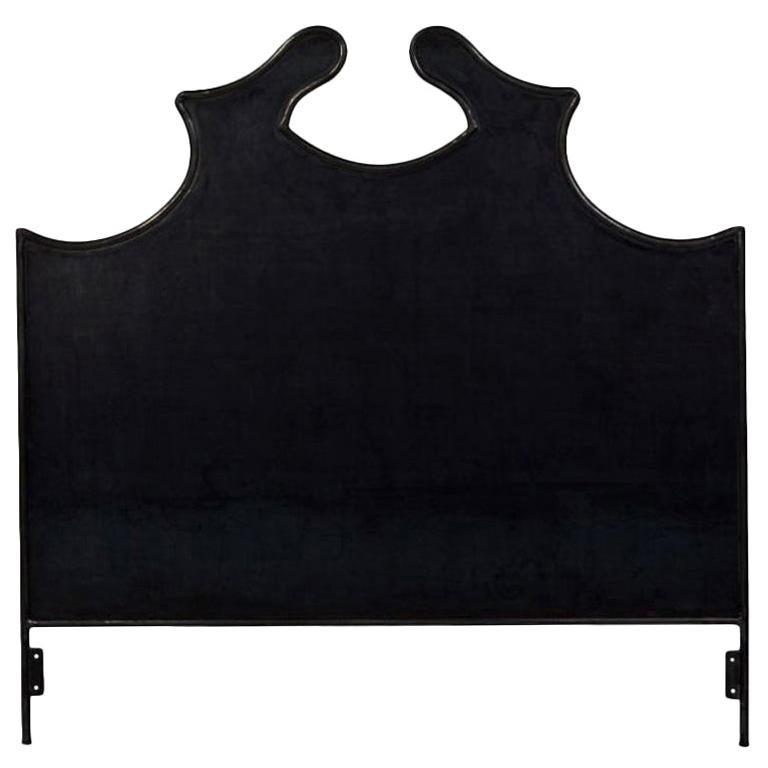 Louis XV Iron Headboard, Queen