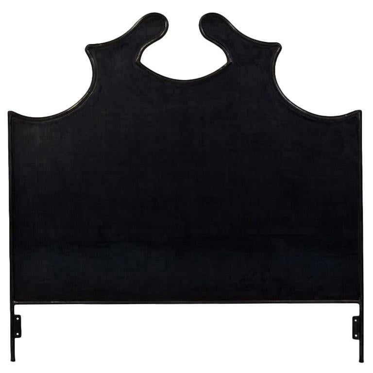 Louis XV Iron Headboard, Queen For Sale