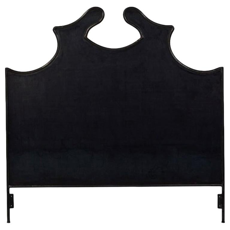 Louis XV Iron Headboard, Twin