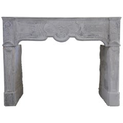Louis XV Mantel Piece from the 19th Century