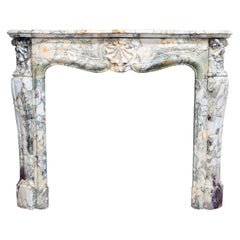 Louis XV Mantle Piece from the 19th Century