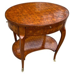 Louis XV Parquetry Occasional Table, Circa 1760