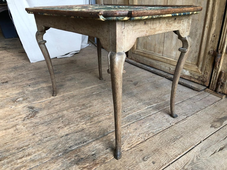 Oak Louis XV Period Card Table, circa 1760 For Sale