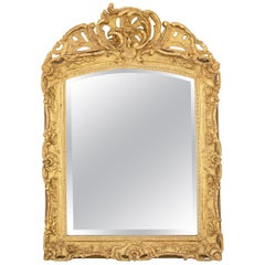 Louis XV Period Gilt Mirror
