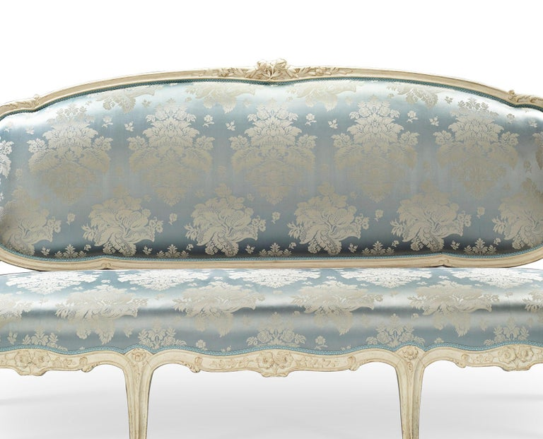 French Louis XV Settee by Jean-René Nadal l'Ainé For Sale