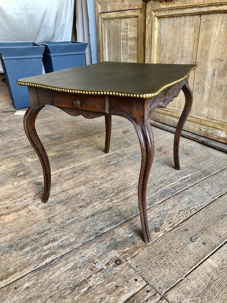 Oak Louis XV Side Table, 18th Century For Sale