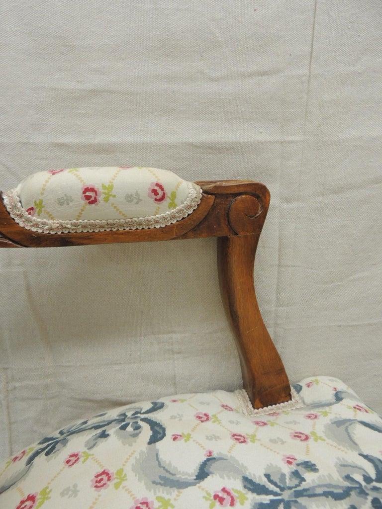 Louis XV Style Antique Petite Armchair For Sale 1