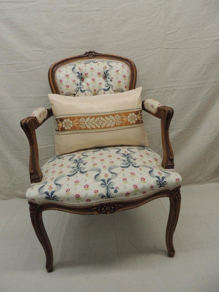 Louis XV Style Antique Petite Armchair For Sale 2