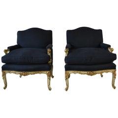 Louis XV Style Armchairs