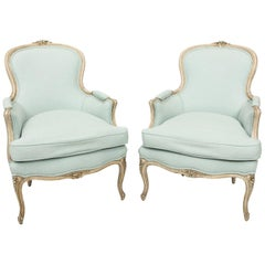 Louis XV Style Bergere Chairs