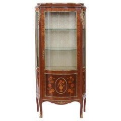 Louis XV Style Bronze Mounted China / Display Cabinet