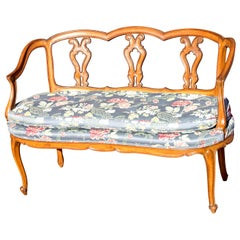 Louis XV Style Canape Sofa Settee