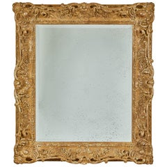 Louis XV Style Carved and Gilded Mirror
