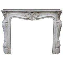 Louis XV Style Chimney Mantelpiece