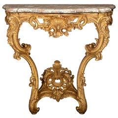 Louis XV-Style Console Table