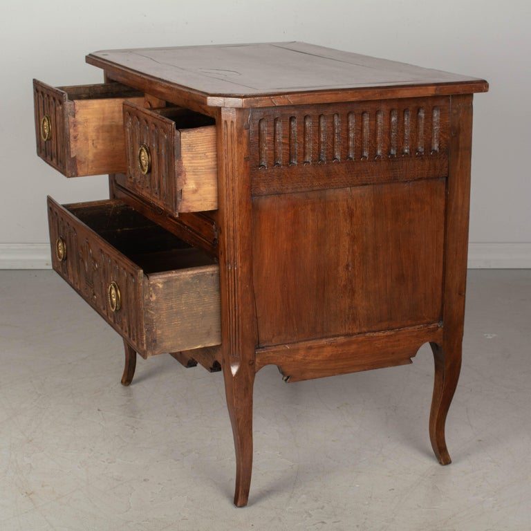 Louis XV Style Country French Commode For Sale 1