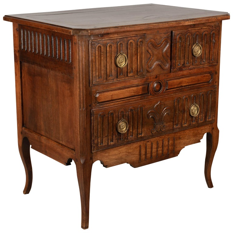 Louis XV Style Country French Commode For Sale