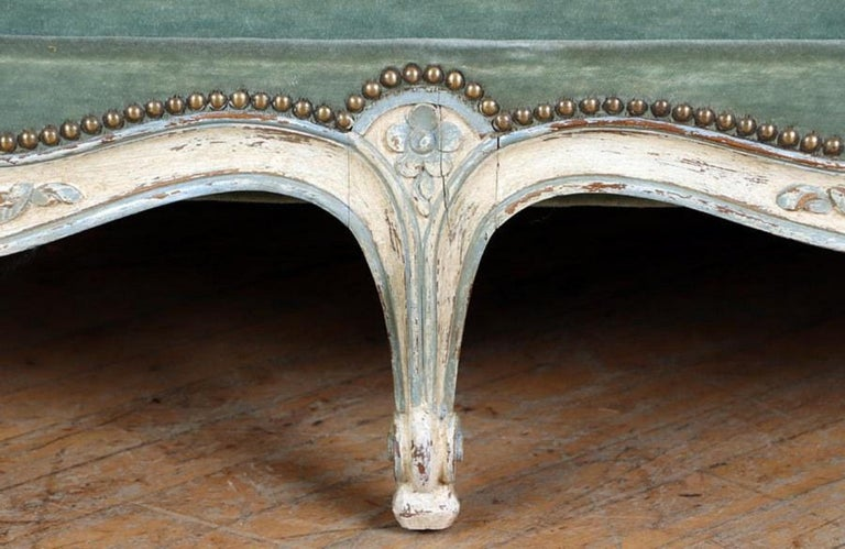 Wood Louis XV Style Daybed