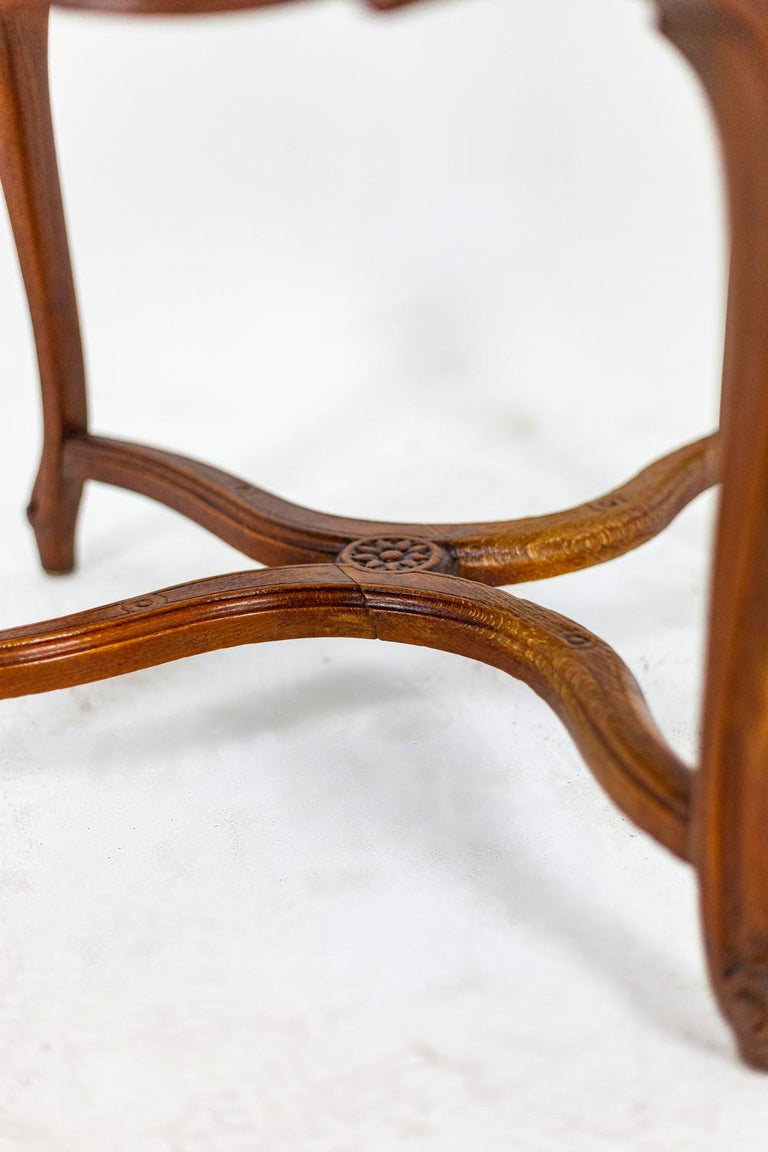 Louis XV Style Desk Chair in Beech, circa 1900s For Sale 3