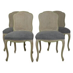 Louis XV Style Dining Chairs Set of 4