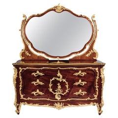 Louis XV Style Dressing Table Attributed to François Linke. French, circa 1910