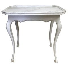 Louis XV Style Faux Painted Side Table