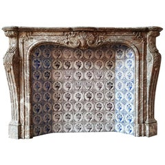 Louis XV Style Fireplace Exceptional