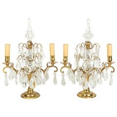 Louis XV Style French Girandole, a Pair