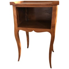 Louis XV Style French Provincial Mahogany Nightstand