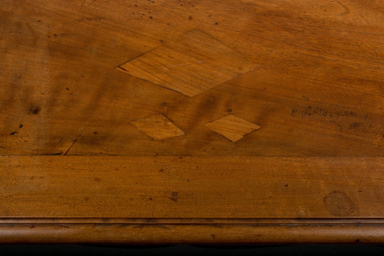 Louis XV Style French Walnut Table For Sale 5