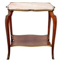 Louis XV Style Gilt Bronze Mounted Tea Table