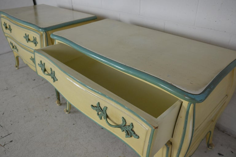 Mid-20th Century Louis XV Style Nightstands For Sale