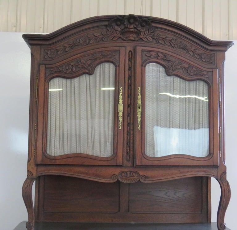 French Louis XV Style Normandy Cupboard For Sale