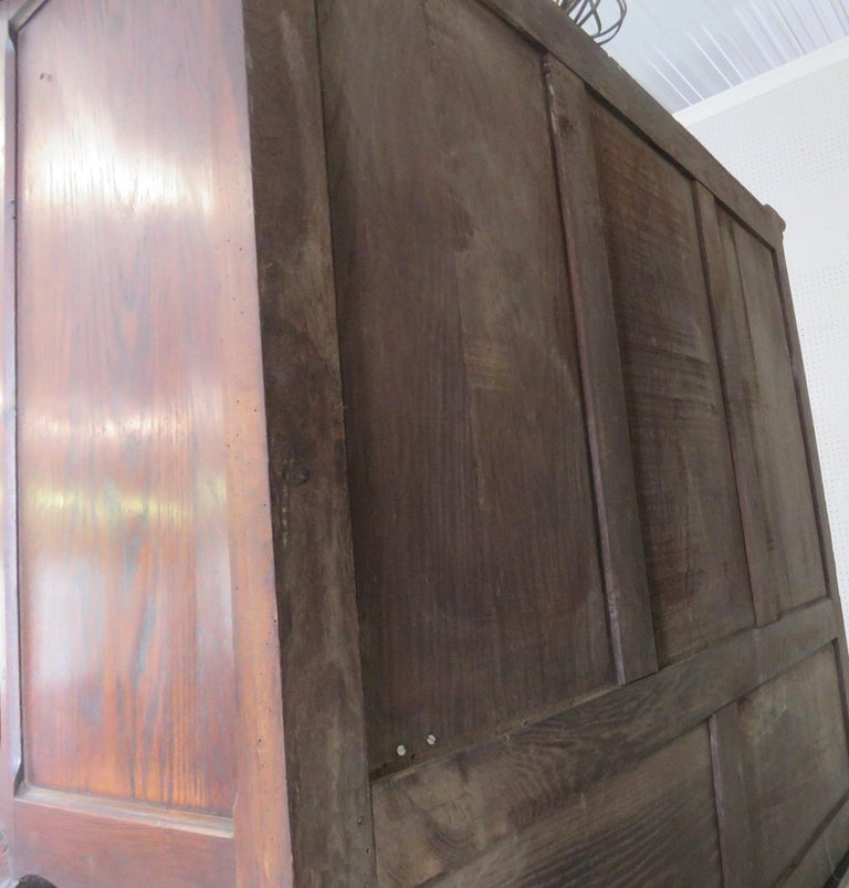 Louis XV Style Normandy Cupboard In Good Condition For Sale In Swedesboro, NJ