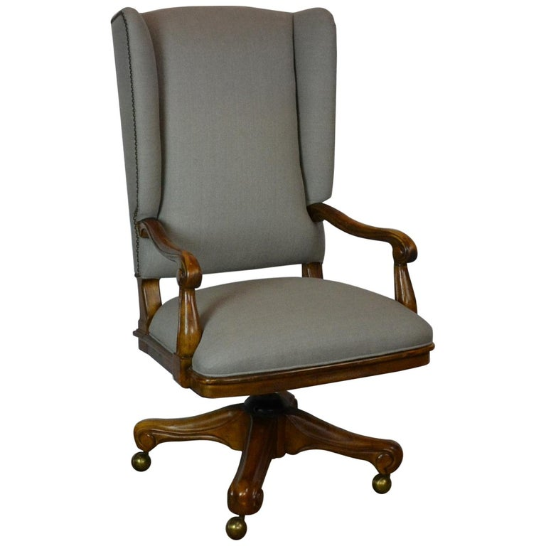 Louis XV Style Office Chair For Sale