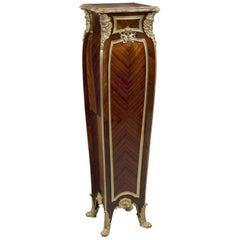 Louis XV Style Pedestal by Zwiener Jansen Successeur, circa 1900