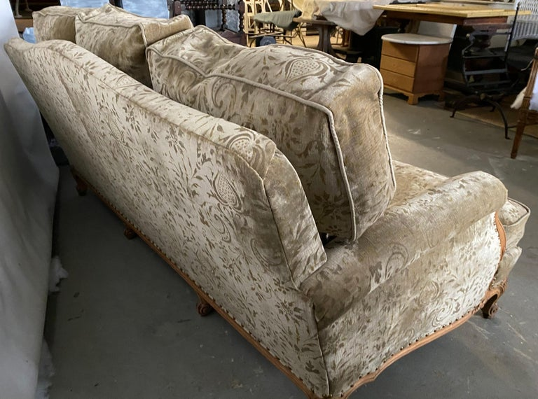 Louis XV Style Provincial Sofa For Sale 1