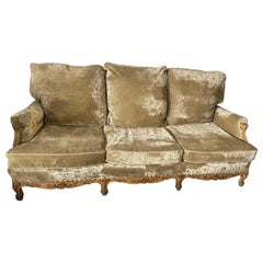 Louis XV Style Provincial Sofa
