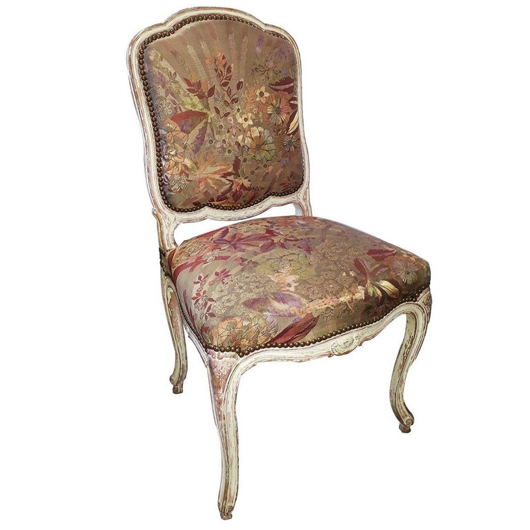 Louis XV Style Set of 4 Chairs For Sale