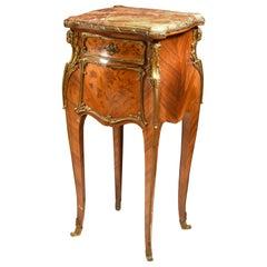 Louis XV Style Side Table, Attibuted to Joseph-Emmanuel Zwiener, France