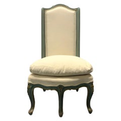 Louis XV Style Slipper Chair