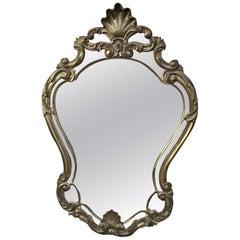 Louis XV Style Wood Gilt Mirror, circa 1950