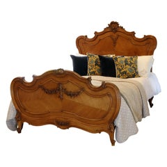 Louis XV Walnut Antique Bed WK150