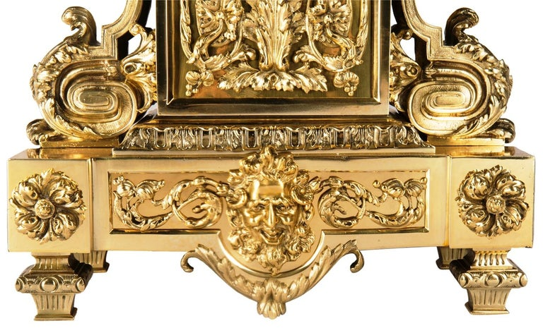 Louis XVI 19th Century Mantel Clock by Leroy In Good Condition For Sale In Brighton, Sussex
