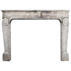 Louis XVI Antique Mantel Piece from the 19th Century