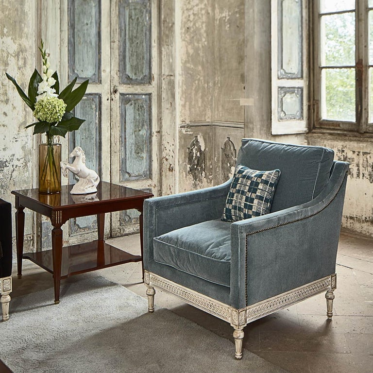 Louis XVI Armchair 8552  In New Condition For Sale In Milan, IT
