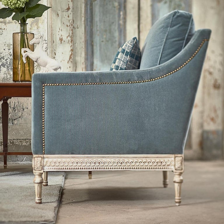 Contemporary Louis XVI Armchair 8552  For Sale