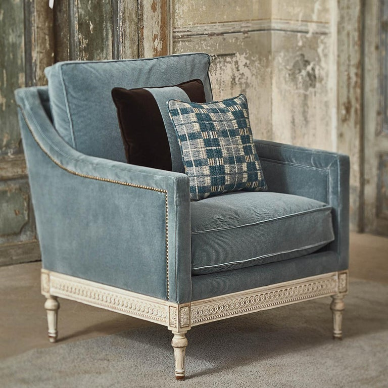 Wood Louis XVI Armchair 8552  For Sale