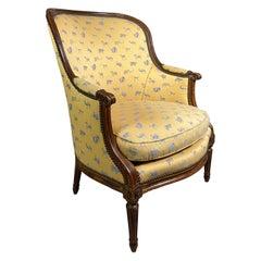 Louis XVI Beechwood Bergere