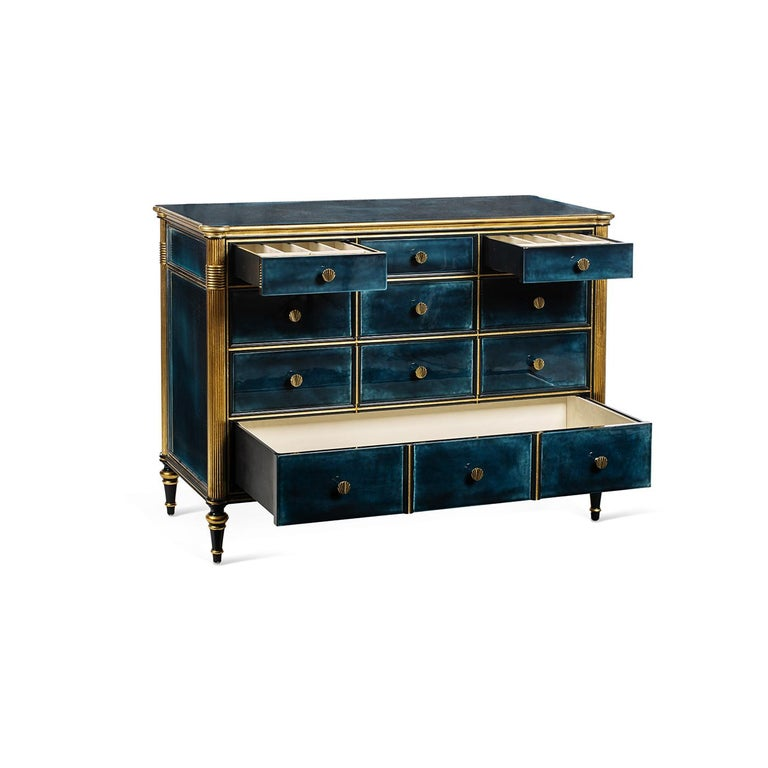 Contemporary Louis XVI Beechwood Sideboard 8713 For Sale